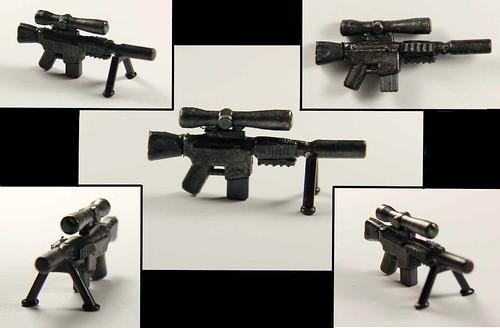 Custom minifig M110 SASS
