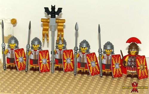 Custom minifig Roman Legion