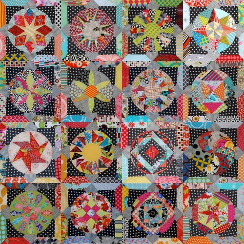 Amitie BOM mock-up by Lynne @ Lilys Quilts