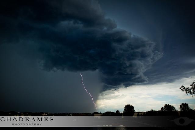 Storm's comin'...