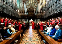 The Massed Choir rehearse (cathedralchoir) Tags: choir 8mm jcandsec