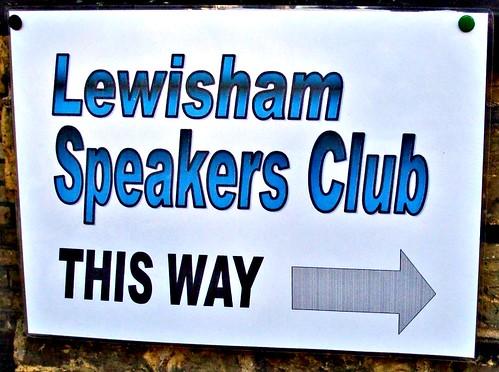 Lewisham Speakers Club by Julie70
