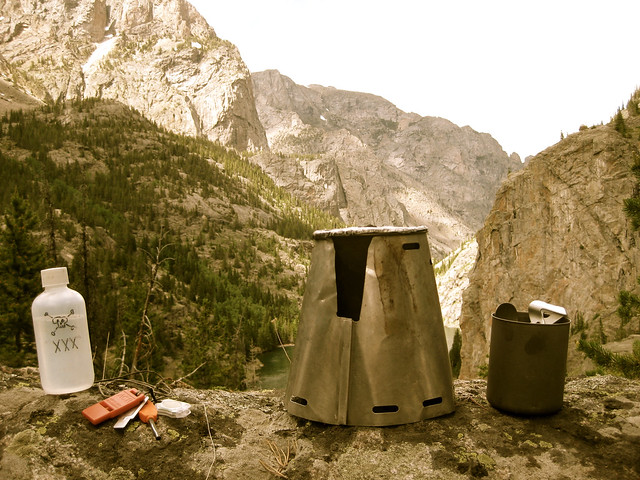 Ultralight Backpacking Cookset