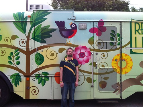 Fuzzy and the Bookmobile