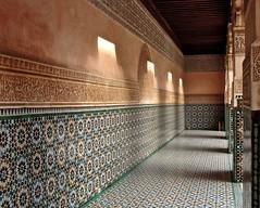 (Julia Manzerova) Tags: texture morocco marrakesh carvedwood zellij carvedplaster madrasabenyoussef
