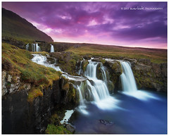 Purple Evening (Dylan Toh) Tags: sunset river landscape flow waterfall iceland exposure photograph dee blend snaefellsnes everlook stunningphotogpin
