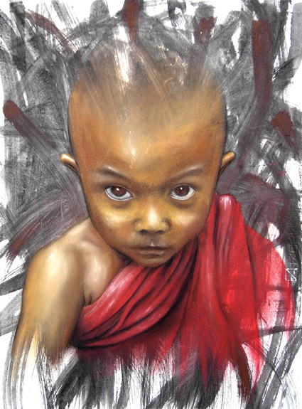 Little Buddha by Adnate
