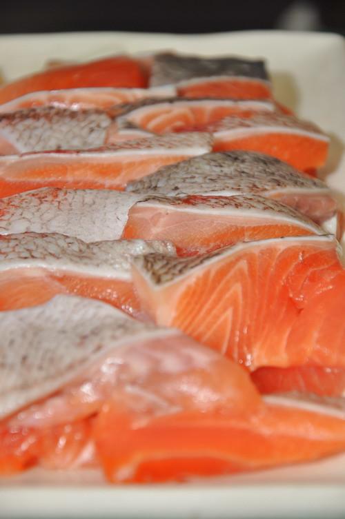 teppenyaki salmon
