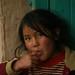 Menina que encontramos durante o Caminho Inca