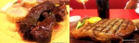 Tender Bob's Steaks and Lagarde Wines