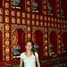 Muitas mini estatuas de Buda