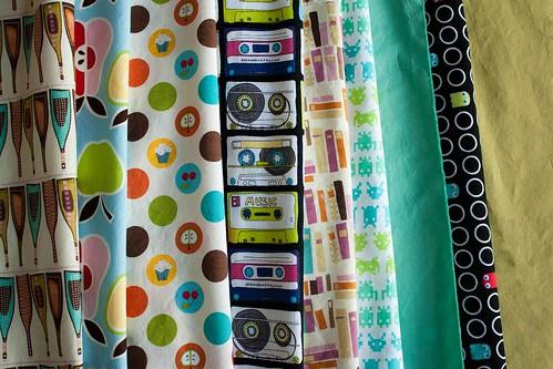 July project fabrics