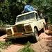 Nesse estradas, somente sendo um Land Rover