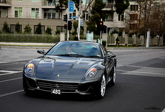 Five-Nine-Nine (Tom Fraser Photo) Tags: italy colour lamp grey cool nice grigio mark wheels southyarra melbourne ferrari headlights silverstone 599 tomfraser t0m722