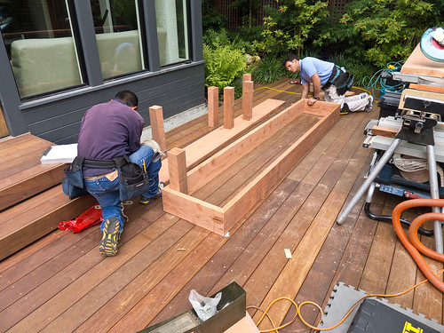 Day 13: Planter box construction I