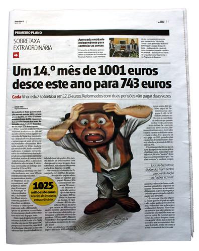 Ilustração-Zé-Povinho by caricaturas