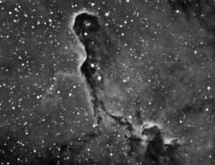 vdB142 in IC1396   aka  The Elephants Trunk Nebula (Astrocatou) Tags: cepheus ic1396 vdb142 Astrometrydotnet:status=solved Astrometrydotnet:version=14400 Astrometrydotnet:id=alpha20110798429682 theelephantstrunknebula