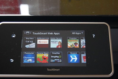 HP ePrinter review - adding apps