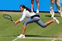 AEGON International 2011, Eastbourne - Marion Bartoli (Fra) (Andy2982) Tags: tennis eastbourne aus fra centrecourt semifinals samanthastosur marionbartoli devonshirepark aegoninternational2011