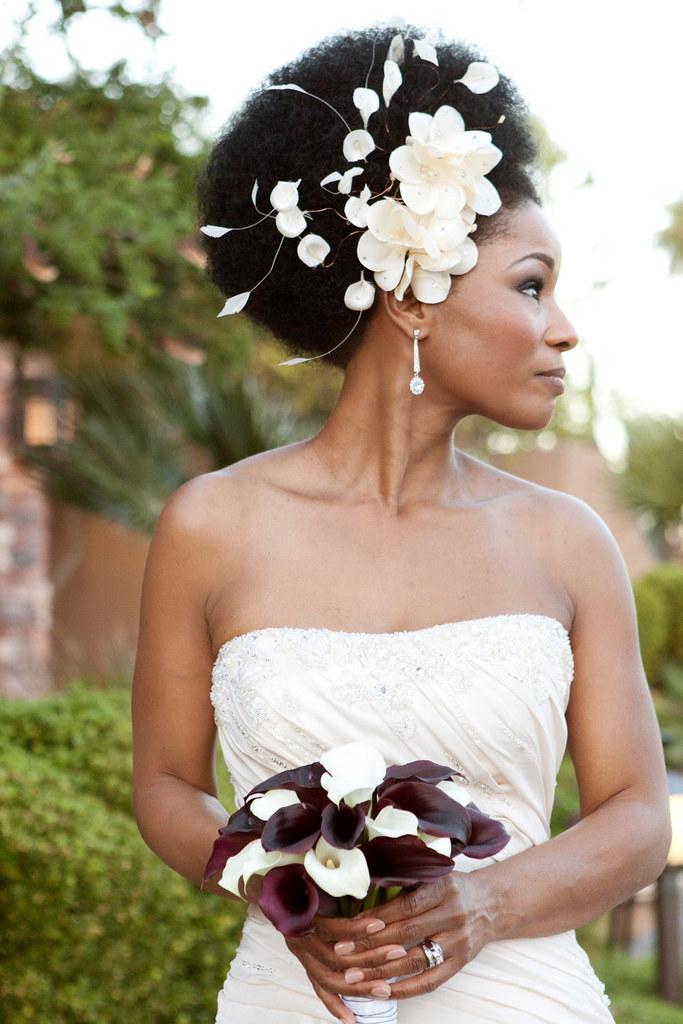 Champagne Flowers Bridal Headband