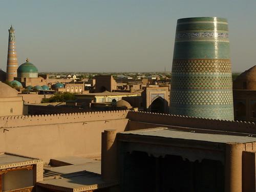 Atardece en Khiva