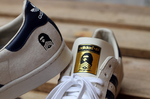Bape x Adidas Superstar