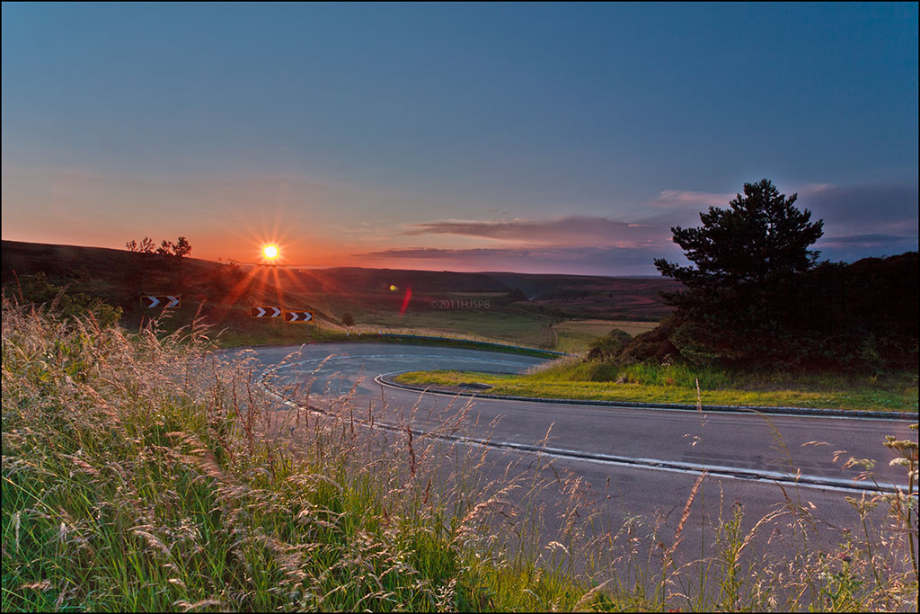 Hairpin Sunset_MG_3327 by HJSP82, on Flickr