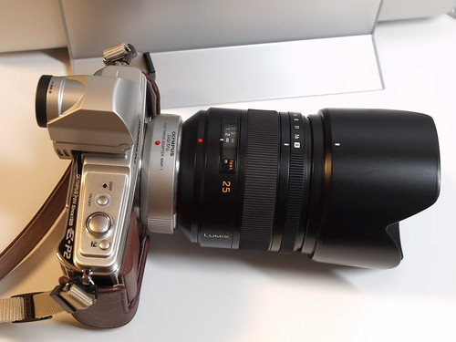OLYMPUS E-P2 + MMF-1 + LEICA D Summilux 25mm F1.4 Asph.