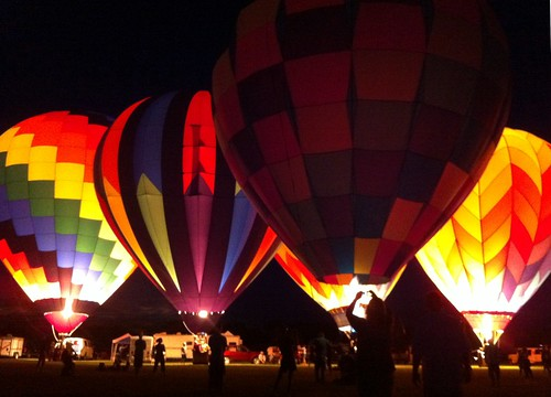 balloons at green river fest