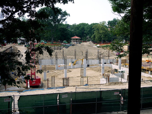 Washington Park construction