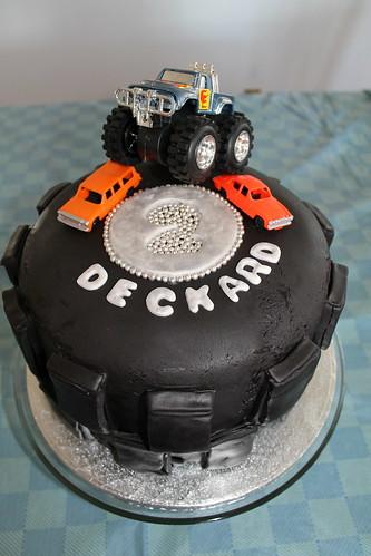 Deckard's 2nd Birthday cake (Edmonton)