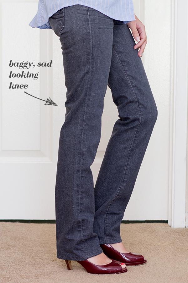 knee-baggy