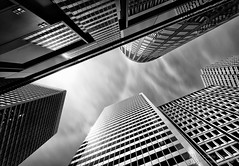 """""""Metropolis"""" - Create With Light Photography  (grantmurrayphotography) Tags: sanfrancisco california longexposure blackandwhite canada architecture vancouver clouds buildings downtown cityscape skyscrapers lightandshadow britishcoulmbia doublyniceshot grantmurray flickraward5 mygearandmesilver mygearandmegold mygearandmeplatinum ringexcellence dblringexcellence createwithlightphotography"""