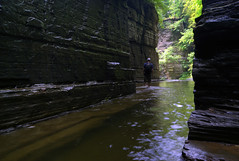 Chamber Secrets (Roots|Photography) Tags: park ny stream hiking havana upstate glen gorge hiker fingerlakes gully