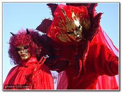 Venice Carnival in Italy