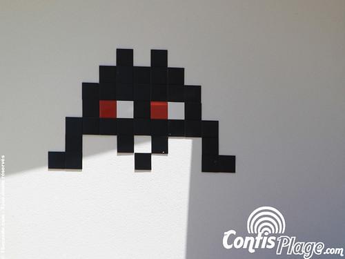 Space-invader à Contis