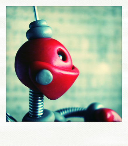 Sneak Peek | Red Robot is Serious Robot by HerArtSheLoves