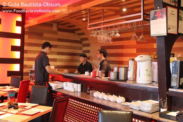 Red Kimono interior
