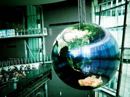 Globe at miraikan