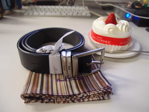 2011年誕生日プレゼント&ケーキ