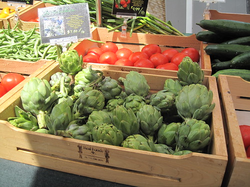 July 23, 2011, Mill CIty Farmers Market