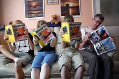 Have you heard... (Jainbow) Tags: family photoshop magazine four photographer 4 article mag feature advanced copies tootdood advancedphotographer