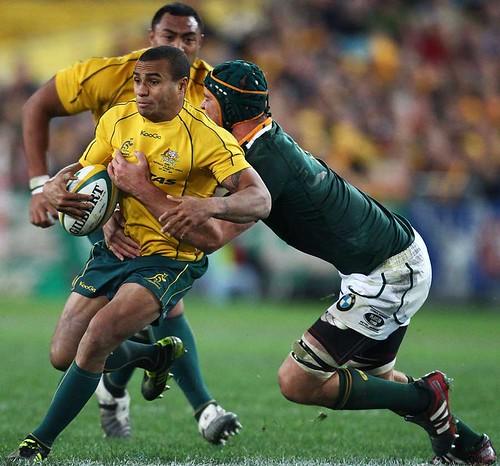 Genia contro il Sudafrica