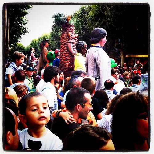 Les Santes de Mataró 2011. Gegantada. #LesSantes #mataró #gegantada
