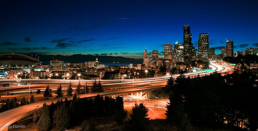 Seattle Summer Night