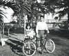 Bunny, Howard, and bike in 1948 - Fort Pierce, Florida (Howard33) Tags: bunny 1948 bike bicycle river drive december florida fort howard indian pierce schwinn goodrich bf wira