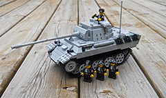 PzKpfw V Panther Tank (ricks-to-use) Tags: tank lego wwii ss v german panther pzkpfw brickmania