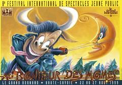 Affiche Festival Au Bonheur des Mômes-1999