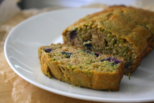 blueberry zucchini bread!