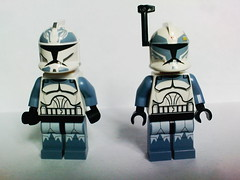 Lego Star Wars Commander Wolffe & Wolfpack trooper (7964) (Jeroen_K) Tags: trooper star lego wars commander wolfpack 7964 wolffe